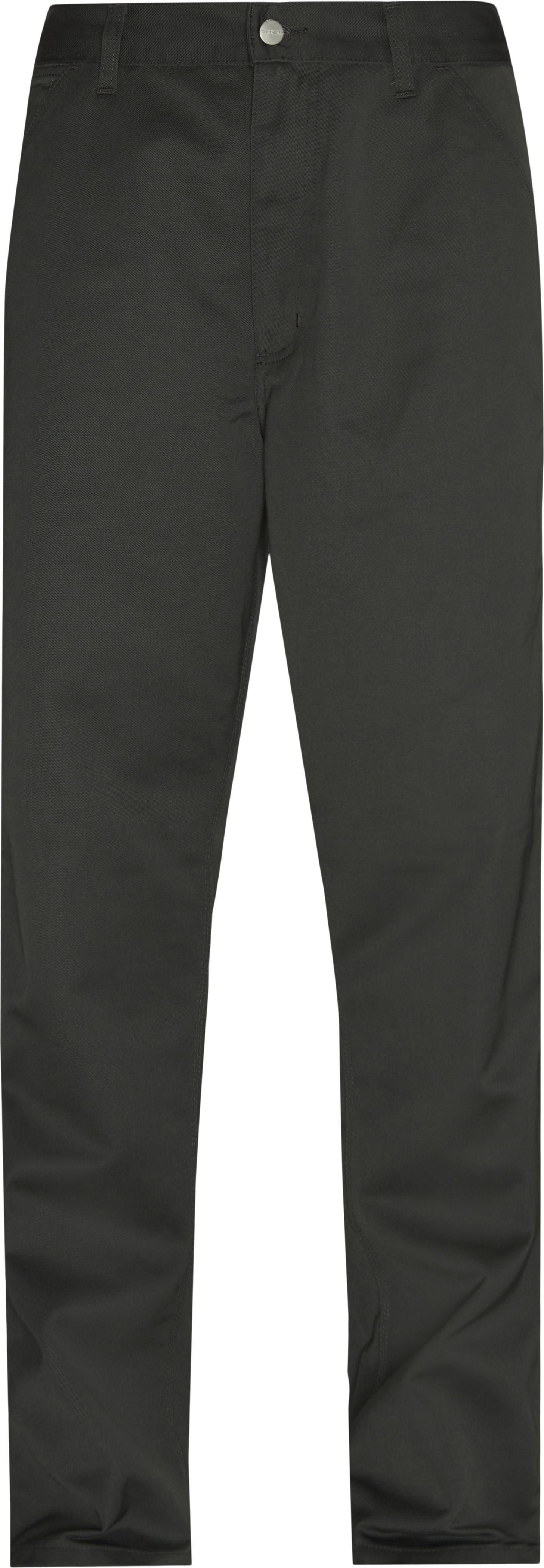 Simple Pant - Byxor - Straight fit - Svart